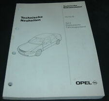 Werkstatthandbuch Opel Vectra B elektronische Fahrzeug Systeme September 1995