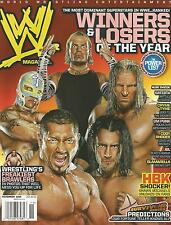 NOVEMBER 2008 WWE WRESTLING MAGAZINE CM PUNK JEFF HARDY BATISTA TRIPLE H