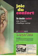 PUBLICITE ADVERTISING 014   1967   ZAEGEL-HELD   APPAREIL DE CHAUFFAGE