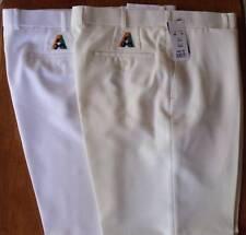 Fletcher Jones lawn bowls BA Trouser Pants White reduced $40-00 POST