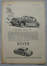 1950 Rover Seventy-Five Original advert No.2