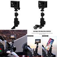 Mobile Phone Camera Handlebar Bracket Holder for Motorbikes/Electric Vehicles