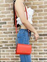 Michael Kors Jet Set Travel Medium Multifunction Phone Crossbody Bag Mandarin