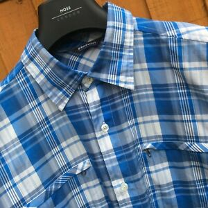 ROHAN 'Pacific' Check L/S Shirt  | Large | good condition