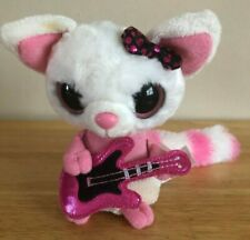 YOOHOO & FRIENDS HARD ROCK CAFE NEW YORK BEANIE BOOS PLAYING GUITAR PLAYS MUSIC