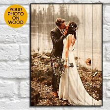 Personalised Anniversary Gifts For Men Gifts For Wife Gifts Photo On Wood frames