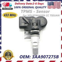 NEW Tire Pressure Sensor TPMS 3AA907275 For VW Volkswagen Tiguan CC 433MHZ