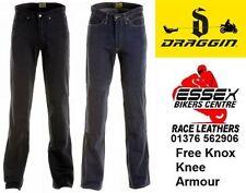 Draggin Men's Denim Exact Motorcycle Trousers