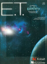 "KATY PERRY ""E.T."" PIANO/VOCAL/GUITAR SHEET MUSIC OUT OF PRINT BRAND NEW ON SALE!"