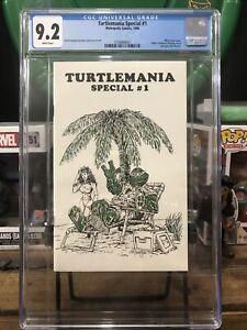Turtlemania Special 1 cgc 9.2 1982 rare book htf Teenage Mutant Ninja Turtles
