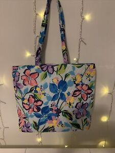 NWT NEW WITH TAGS VERA BRADLEY ESSENTIAL TOTE BAG MARIAN FLORAL
