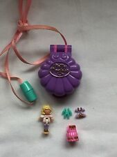 polly pocket 1995 Polly's Show Time Locket 100% complete Ultra  Rare