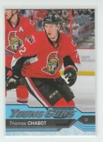 (74897) 2016-17 UPPER DECK YOUNG GUNS THOMAS CHABOT #488 RC