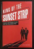 KING OF THE SUNSET STRIP - STEVE STEVENS  - SIGNED - 1ST ED - UNCLIPPED JACKET.
