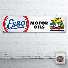 1700 x 430mm esso oli motore scooter Banner, Heavy Duty Workshop Banner