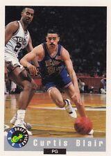 1992-93 Classic Draft Picks #10 Curtis Blair Rookie Basketball Card