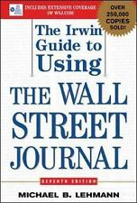 The Irwin Guide to Using the Wall Street Journal-ExLibrary