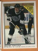 1990/1 OPC Premier Hockey  - #38 Wayne Gretzky - LA Kings - nrmt/mint