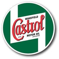 CASTROL WAKEFIELD GASOLINE OIL SUPER HIGH GLOSS OUTDOOR 4 INCH DECAL STICKER