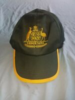 Australia Green & Gold Cap - Preowned