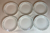 Set of 6, Corelle Corning Ware, Country Cottage, 10 1/4'' Dinner Plates