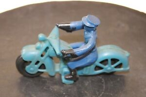 Vintage motorcycle toy,tin,cast iron,plastic,motorcycle toy