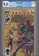 New Mutants #30 CGC 9.4 1985 Marvel Comic Chris Claremont Story: New Frame
