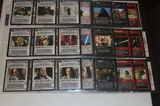 Star Wars CCG Complete 98 Card Tatooine Set NO AIs. Darth Maul Qui-Gon Jinn
