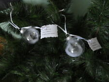 Set of 2 Angel Feather Ornaments With Message Tag~Memorial or Sympathy Gift