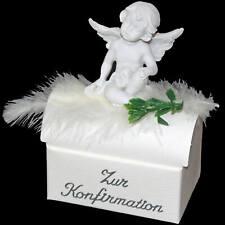 ღ Geschenk Box zur Konfirmation mit Schutzengel für Geld Schmuck ღ Geldgeschenk