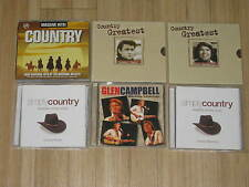 Massive Hits Country, Country Greatest Glen Campbell & Johnny Cash Simply Countr