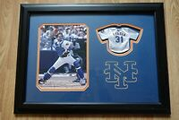 RARE Mike Piazza Framed New York Mets Tiny Jersey & Photo 23x17.5 MLB hologram
