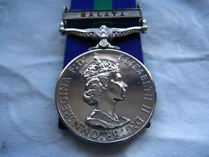 General Service Medal-  Malaya