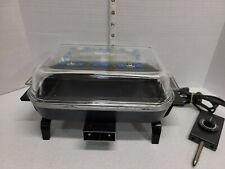 Presto WeeFry Small Electric Skillet Countertop Kitchen Appliance Tested Works