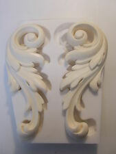 LARGE ORNATE SCROLLS SILICONE RUBBER MOULD