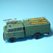 RK Modelle IFA W50L MILITÄR-Feuerwehr Spritzenwagen der NVA DDR,H0,1:87+ Leitern