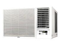 LG LW2416HR - 24,000 BTU 220V Window A/C w/ Heat: Remote & Window Vent Kit Incl.