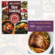 Slow Cooker Recipes 2 Books Collection Set (200 More Slow Cooker Recipes) New