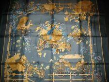 foulard HERMES collector carré AU BOIS DORMANT - Madame Stroppa 1983  scarf