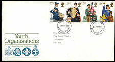 GB FDC 1982 Youth Organisation, Rotherham FDI #C39581