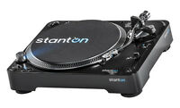 STANTON T.92 M2 USB - DIRECT DRIVE TURNTABLE w/ DUST COVER / Authorized Dealer