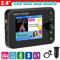 2.4in LCD Digital Car DAB Radio DAB 87.5-108MHz FM Bluetooth  USB with Antenna