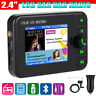 2.4in LCD Digital Car DAB Radio DAB 87.5-108MHz FM Bluetooth TF USB with Antenna
