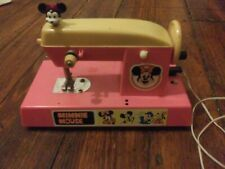 Disney Minnie Mouse sewing machine early 1970s FOR DISPLAY ONLY