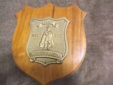 "USN US NAVY Submarine IMUA SSBN 642 Kamehameha Military Wooden Plaque 10.5 x 12"""