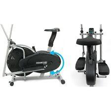 Elliptical cross trainer and exercise bike