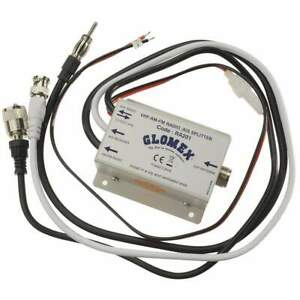 Glomex VHF AIS Radio Splitter 12v #RA201