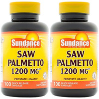 Sundance Saw Palmetto 1200 mg Tablets, 100 Count ( 2 Pack)