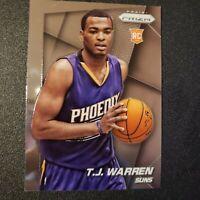 2014-15 Panini Prizm TJ WARREN #263 RC Rookie Base Card Pacers