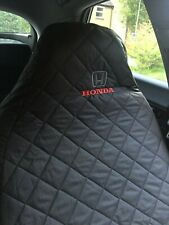 2 x Honda Civic accord CRV  waterproof car seat covers will fit all Honda models